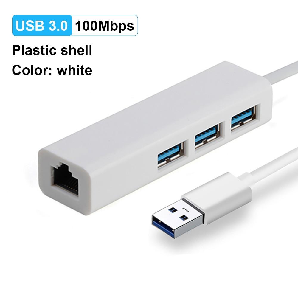 USB3.0 100M White