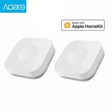 Aqara สวิทช์ไร้สายสมาร์ทรีโมทคอนโทรล One Key Control Aqara อัจฉริยะการประยุกต์ใช้ Home Security APP Control