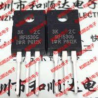 10 unids/lote IRFI530G nuevo lugar TO-220F 100V 9.7A