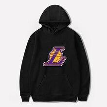 Los Angeles Basketball Hoodies Fashion Lover Hoodie Streetwear Men/women Autumn