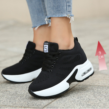 Women Shoes Platform Sport Hight Sole 9cm Chaussures Marche Increasing Haute Thick Winter