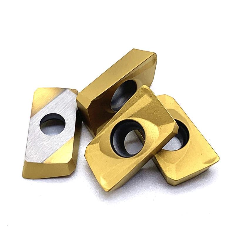 Купить с кэшбэком 100PCS APMT1604 PDER M2 H2 VP15TF UE6020 US735 Carbide Insert Lathe Milling Mill cnc tools milling cutter APMT 1604 Hard Alloy