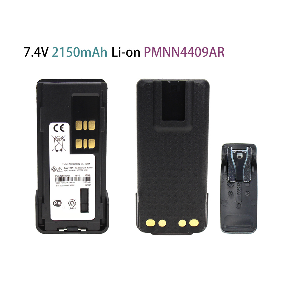 PMNN4409AR 7.4 V 2150mAh Li-on Battery For Motorola XPR3300 XPR3500 XPR7350 XPR7380 XPR7550 XPR7580 Radio