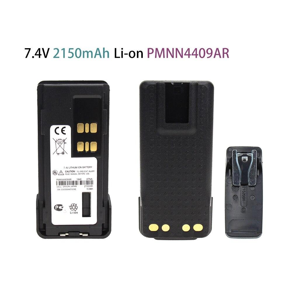 PMNN4409AR 7.4 V 2150mAh Li-on Battery For Motorola XPR3300 XPR3500 XPR7350 XPR7380 XPR7550 XPR7580 Radio