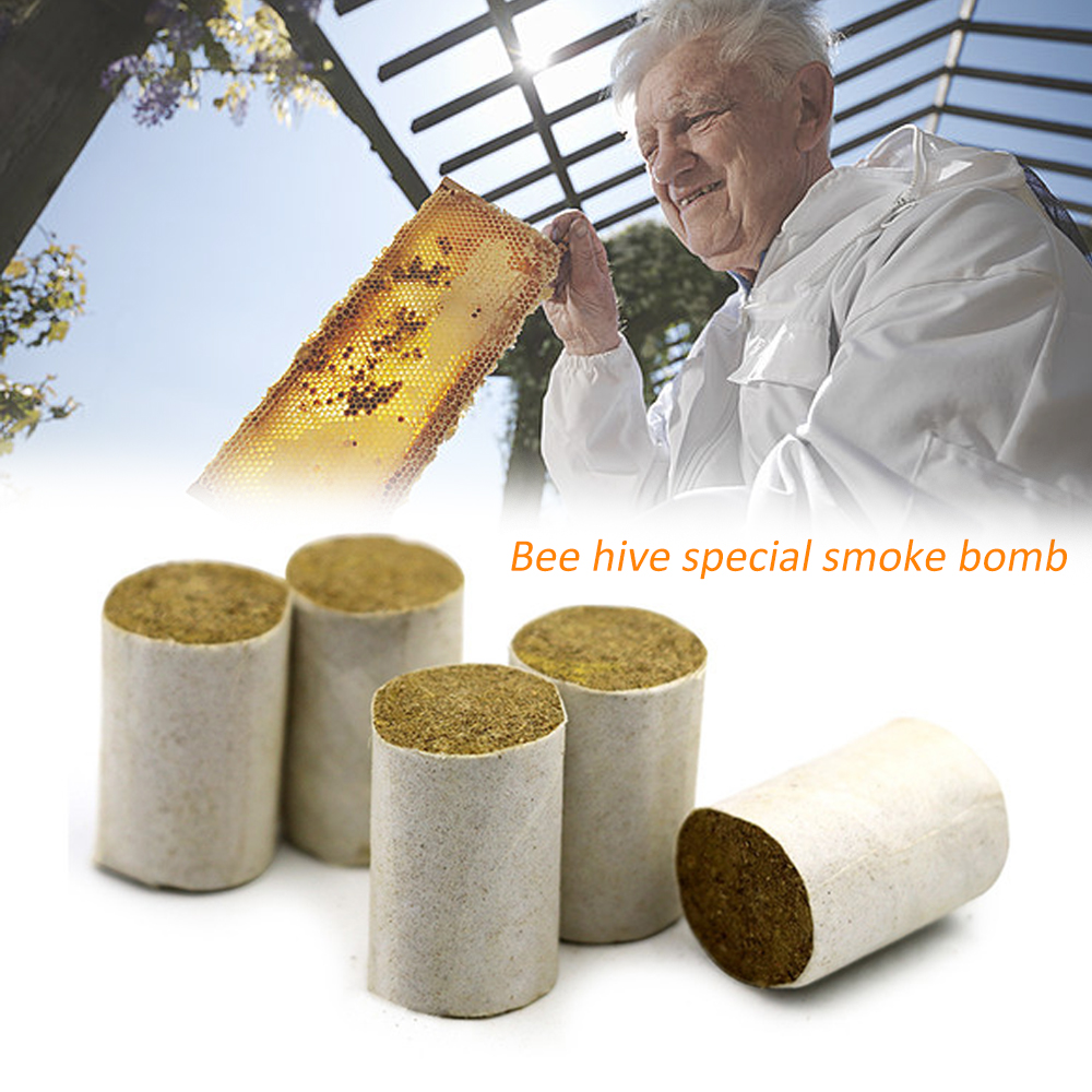 54 Piece Bee Hive Smoker Pellet Chinese Herb Beekeeping Bee Smoker Pellet Herbal