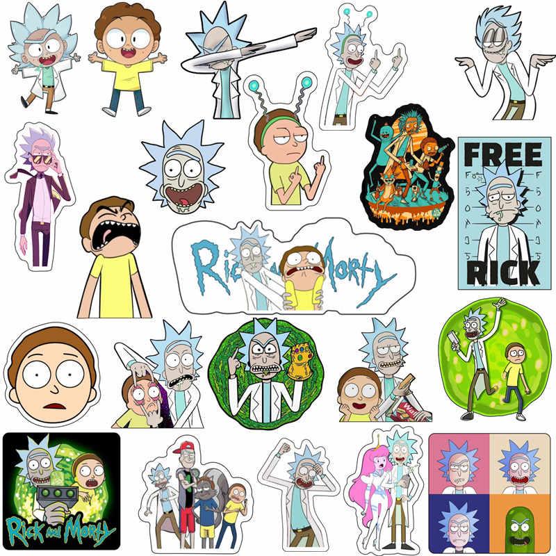 Rick 1PCS Fresco Com Óculos de Sol Ícone Acrílico Broche Bonito Morty Pin Badge Crianças Presentes de Aniversário Para a Decoração Na Mochila t-shirt
