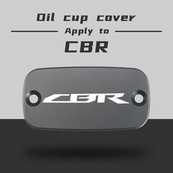 CNC Aluminum Motorcycle Brake Fluid Fuel Reservoir Tank Cover Cap FOR HONDA CBR 600 RR 03-06 CBR 650 F 14-18 CBR 600 F 2000-2014