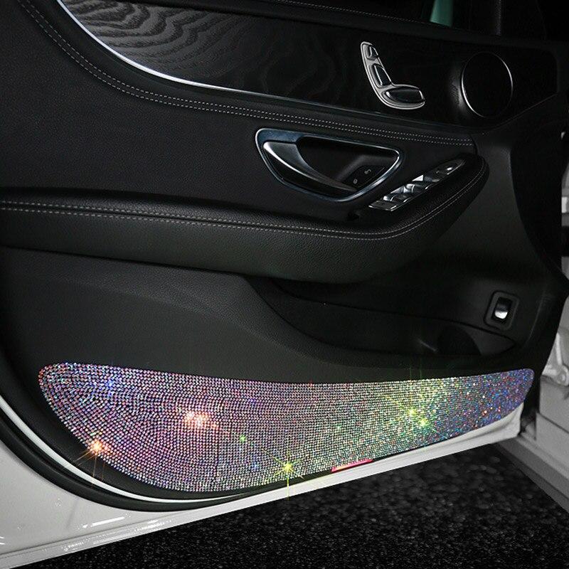 Car 3M Sticker Car Multi-function Car Door Protective Sticker Rhinestone Tape Car Protection Scratch-resistant