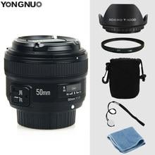 YONGNUO YN 50mm f/1.8 Lente AF YN50mm Abertura Foco Automático Grande Abertura para Nikon DSLR Camera como AF-S 50mm 1.8G