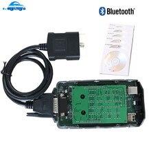 Avec circuit imprimé vert! Vd tcs cdp pro outil de diagnostic de voiture et camion, avec bluetooth V5.008 R2, fonctionne de meilleure qualité