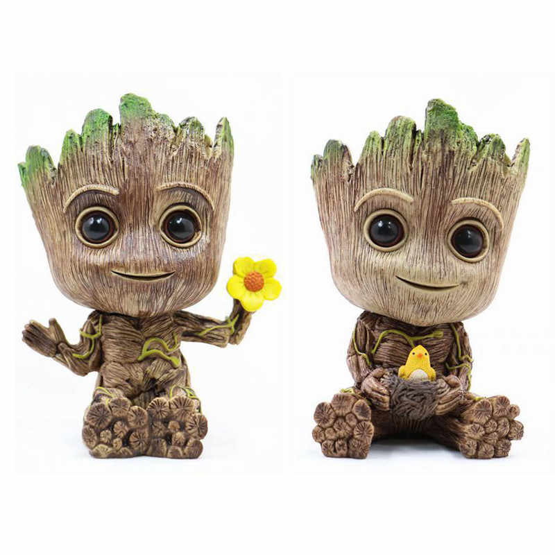 Action-figuren Guardians Of The Baby Grooting Blumentopf Anime Galaxy Sammlung Spielzeug Geschenke Dropshipping