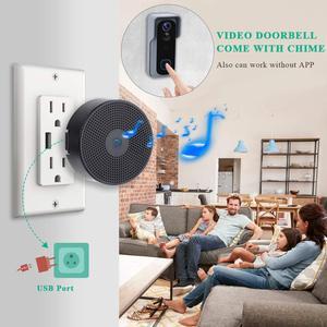 Image 5 - Onvian WiFi Türklingel Kamera Wasserdicht 1080P HD Video Tür Glocke Motion Detektor Smart Wireless Türklingel mit Kamera Nachtsicht