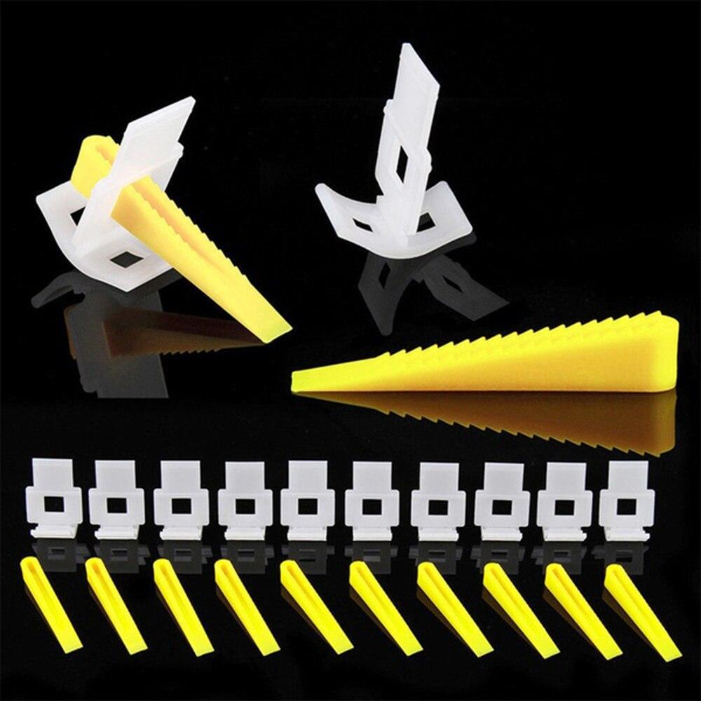 700 шт. оснастка для выравнивания керамической плитки инструмент для регулировки плитки система выравнивания плитки прокладки строительные