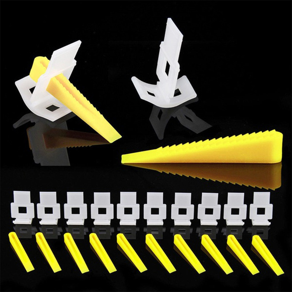 700pcs Leveler Spacer Snap To Attach Ceramic Tile Adjuvant Tool  Tile Leveling System Tile Spacers Construction Tools Wall Tiles