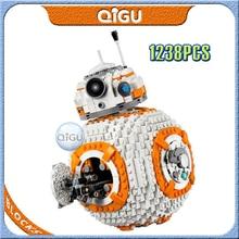 цена на 1238Pcs BB8 Star Wars Robot Set Series 75187 Building Blocks Toys Compatible Bricks Lepining StarWars BB-8