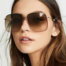 2020 Модные женские солнцезащитные очки oculos зеркальные Квадратные