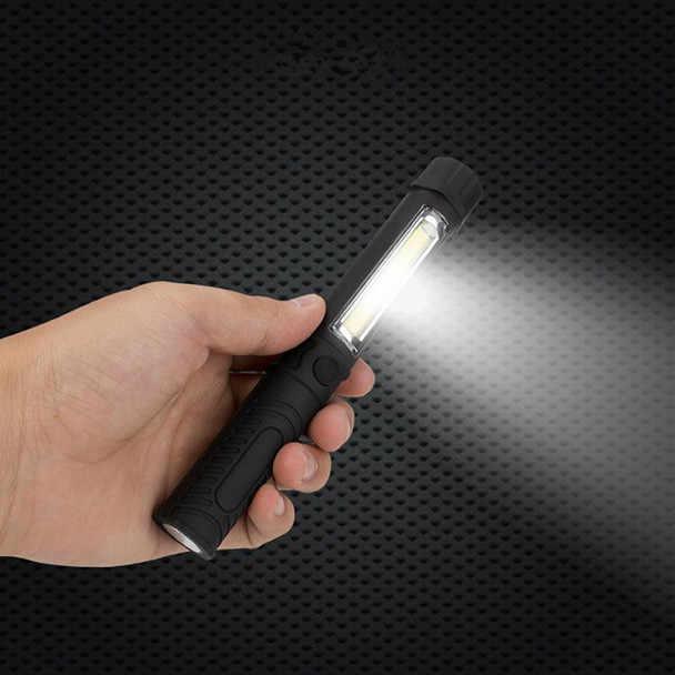 Lampe COB Portable multifonctionnelle lampe de travail | Lampe torche stylo de poche, lumière d'inspection, lampe de travail, lampe avec Clip