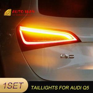 Image 2 - Araba Styling arka lambası park lambaları durumda Audi Q5 arka lambası 2009 2015 LED kuyruk lambası arka bagaj lambası Audi Q5 arka lambaları
