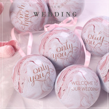 new personality fashion wedding sweet box tin 10pcs small flower gift party favors candy packaging for gifts
