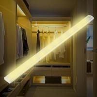 Touch Switch Night Lights 30CM LED Touch Sensor Switch Light Closet Light Under Cabinet Aluminum Light Night|LED Bar Lights| |  -