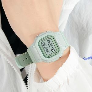 Fashion Women Digital Watches Luxury Ladies Led Silicone Strap Wristwatches Fashion Women Watch Clock Ins Hot Relogios Femininos