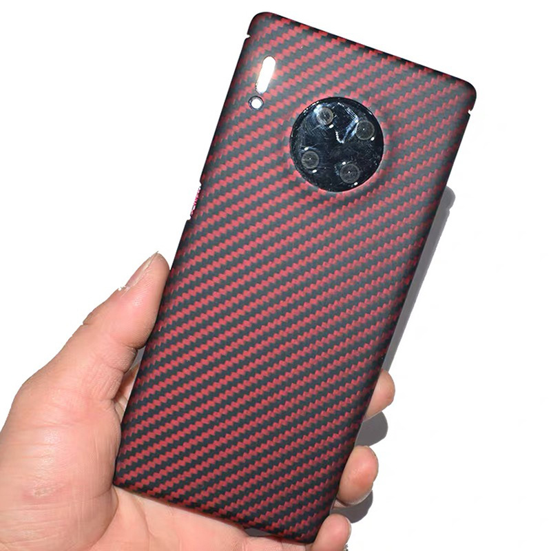 colorful pure carbon fiber fashion ultra-thin mobile phone case for <font><b>Huawei</b></font> <font><b>Mate</b></font> <font><b>20</b></font> <font><b>pro</b></font> X RS Mate30 <font><b>pro</b></font> hard business phone <font><b>cover</b></font> image