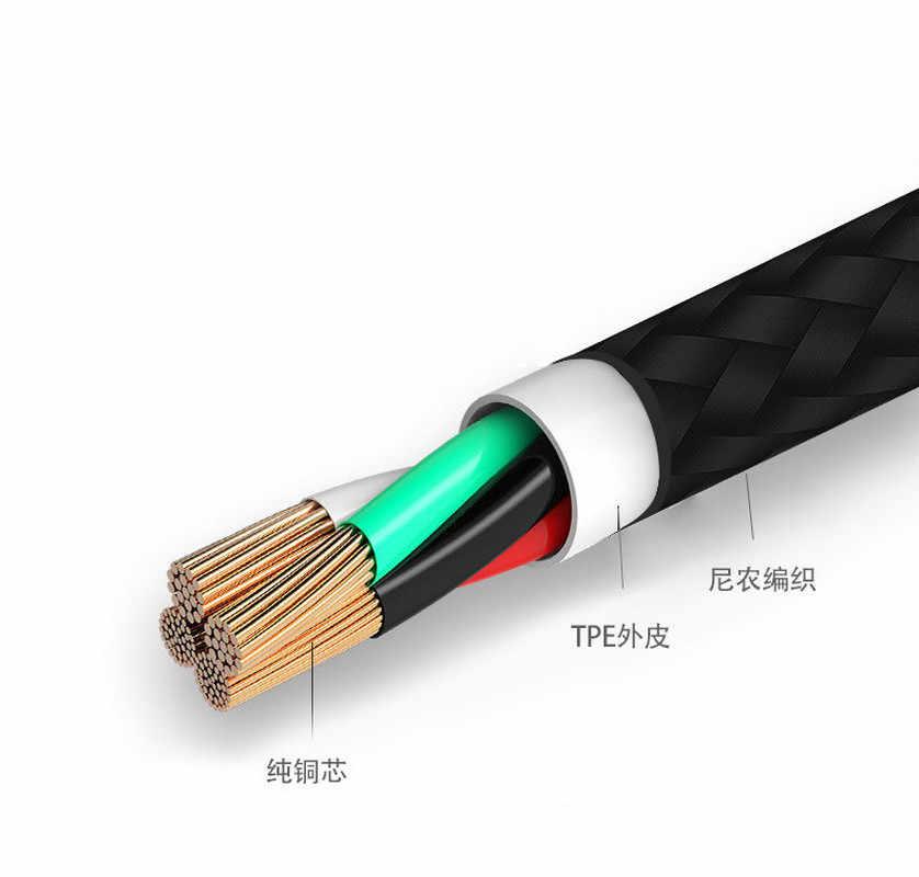 Cable usb tipo C Cable de carga rápida para Samsung Xiaomi Cable de teléfono móvil Cable de datos de carga USB C TypeC para huawei Oneplus
