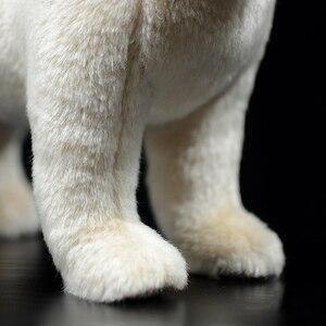Image 5 - 25 センチメートルリアルなチワワ犬ぬいぐるみかわいい犬子犬ぬいぐるみ人形ソフト実生活チワワおもちゃ子供のためのギフト
