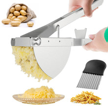Stainless Steel Business Potato Ricer and Masher for Baby Food Creamy Fluffy Mashed Fruit Kitchen Gadgets