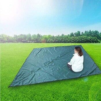 Awning Hammock Outdoor Diamond Camping Mat Rainproof Sunscreen Mosquito Net Canopy Set C55K Sale
