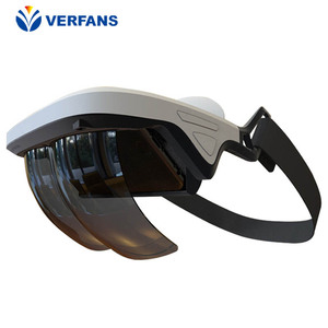 Augmented Reality Glasses AR Box Holographic Effects Smart Helmet 3D Virtual Reality with Control Handle(China)