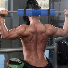 Cuscinetto protettivo per bilanciere sportivo con manicotto di protezione per collo in schiuma Squat pratica attrezzatura per il Fitness multifunzionale durevole