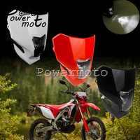 Dual Sport Twin Scheinwerfer LED Weiße Tagfahrlicht Für Honda CRF450L CRF450XR CRF 150 230 250 450 R F L 2019-2020 Dirt Bike