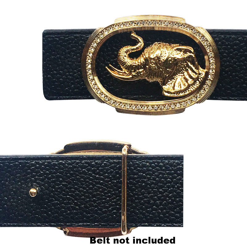 Western Men's Belt Buckles Suitable For 4 Cm Width Belts Cowboy Accessories