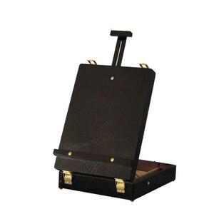 Image 5 - Fileto masaüstü dizüstü bilgisayar kutusu şövale boyama donanım aksesuarları çok fonksiyonlu boyama bavul sanat kaynağı sanatçı damla nakliye