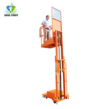 4m electric automatic goods picker Hydraulic Aerial Order Picker