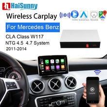 Wi fi Беспроводной oem carplay для mercedes cla 180 w117 2011