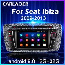 Android 9.0 Autoradio Voor Seat Ibiza 6j 2009 2010 2012 2013 MK4 Fr Gps Navigatie 2 Din Screen Audio multimedia Wifi 2din Speler