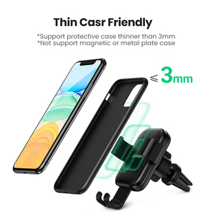 Image 4 - Ugreen Không Dây Sạc Trên Ô Tô Cho iPhone 12 Pro XS X 8 Fasr Sạc Không Dây Dành Cho Samsung S9 S10 Xiaomi Mi 9 Sạc Không Dây Qi