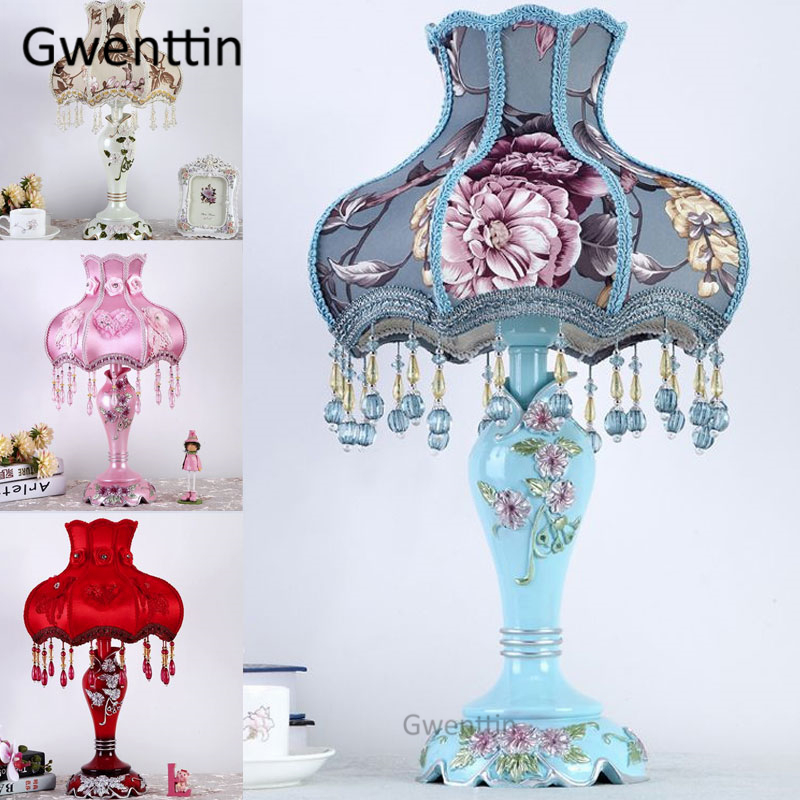Modern Wedding Resin Table Lamps Led Stand Desk Light Standing Lighting Fixtures for Bedroom Bedside Lamp Home Decor Luminaire