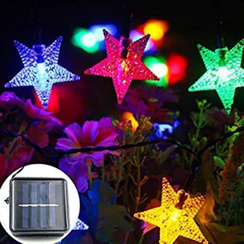 Christmas Decoration Solar Star Light