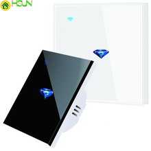 Tuya US/EU/AU Standard Touch Switch Smart Light Switch Panel Wall interruptor 1/2/3 Gang wifi Voice Work with Alexa Google Home