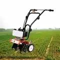 52cc Benzin Garten Mini Pinne 2 Hub Motor Grubber Rotavator Rasen Boden