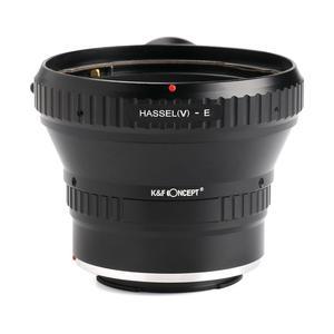 Image 1 - K & F קונספט מתאם עבור Hasselblad V הר עדשה כדי Sony E mount מצלמה NEX A7R2 A7R3 A7M3 a7M2 A9 a5000 a6000 a6500 a6300 a6400
