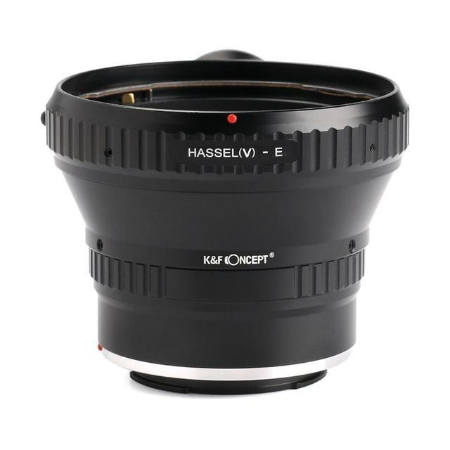 K & F קונספט מתאם עבור Hasselblad V הר עדשה כדי Sony E mount מצלמה NEX A7R2 A7R3 A7M3 a7M2 A9 a5000 a6000 a6500 a6300 a6400
