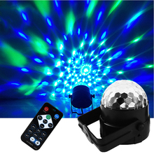 Luminous Dance Lamp with Remote Control Christmas Decor 7Colors Fantastic Disco Light Strobe Light Stage Light DJ Bar Stage Lamp
