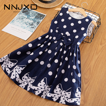 A-Line Summer Kids Dresses For Girls