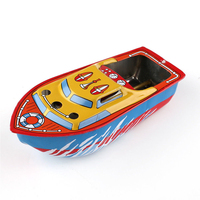 Fun Floating Toy Retro Experimental Gifts Steam Metal Decorative Kids Children Classic Educational Colorful Candle Boat