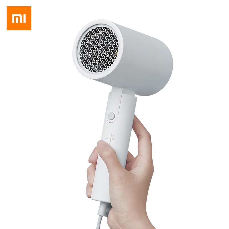 Original XIAOMI MIJIA Portable Anion Hair Dryer Nanoe Water ion hair care Professinal Quick Dry 1600W Travel Foldable Hairdryer