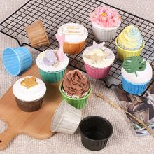 Paper Cup Cupcake-Wrapper Liner Baking-Cup Wedding Party Muffin 50pcs Tray-Case Cassettes